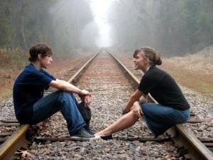 personlig samtale