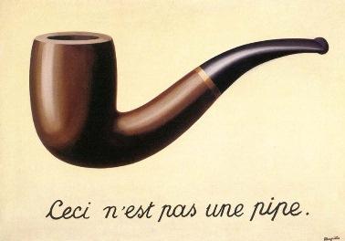 """Renè Magritte - """"Dette er ikke en pipe"""""""